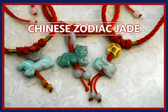 Chinese Zodiac Jade Bracelets, Necklaces and Phone Straps