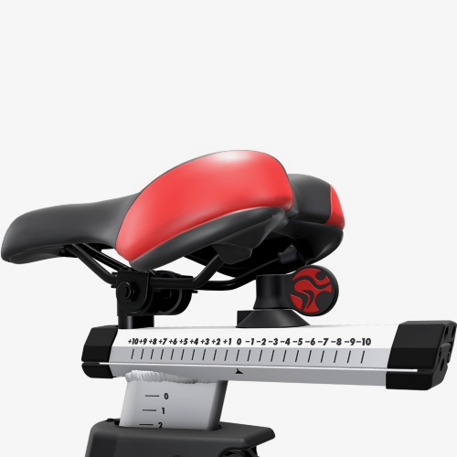 Life Fitness IC7 adjustable seat.