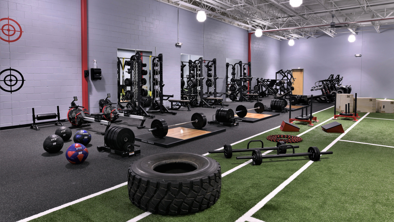 Evolve Fitness Audubon Strength & Conditioning Room