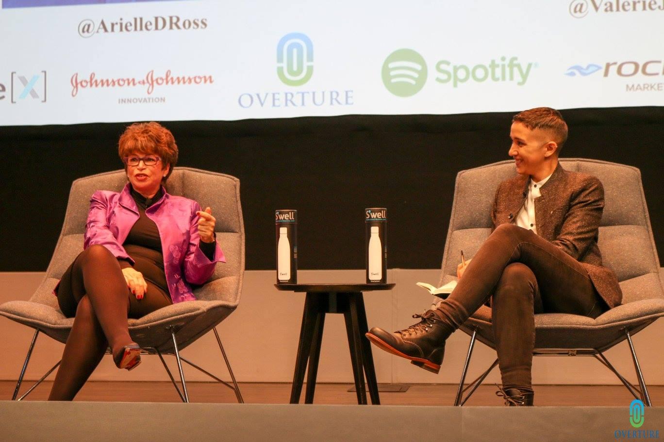Valerie Jarrett & Arielle Duhaime-Ross at STEM+HD