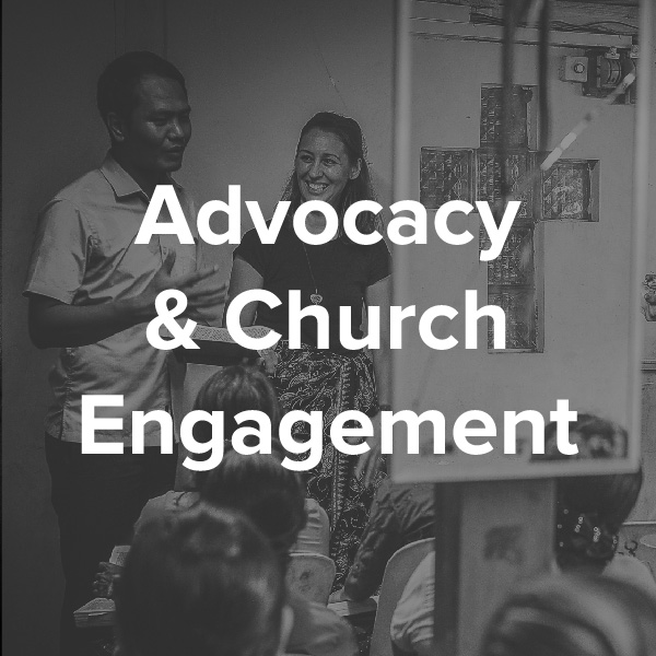 The church is often confortable reaching out to the needs of others but uncomfortable engaging in advocacy for change. How can justice and politics interact for the good of society?