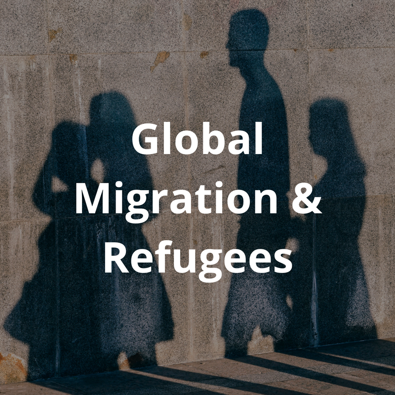 The global migration of refugees has put nations on the defensive and closed many borders. While the common view that refugees are 'poor economic migrants who take our jobs and benefits' prevails in many circles, others recognise the economic benefits and entrepreneurial skills which many refugees can bring to society. How can christians advocate for policies which recognise the dignity and value of 'foreigners' and work to change public prejudice against 'refugees'?