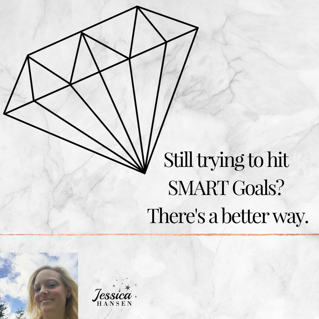 SMART goals are out, DIAMOND Goals are IN.  stop wasting your time trying to hit your goals the old way.