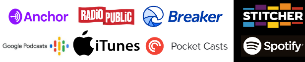 BizMagicMinute can also be heard on Anchor, RadioPublic, Breaker, Stitcher, Google Podcasts, PocketCasts, and Spotify.