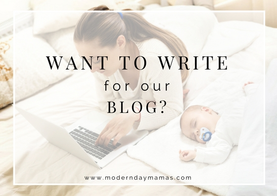 Want to Write for Our Blog