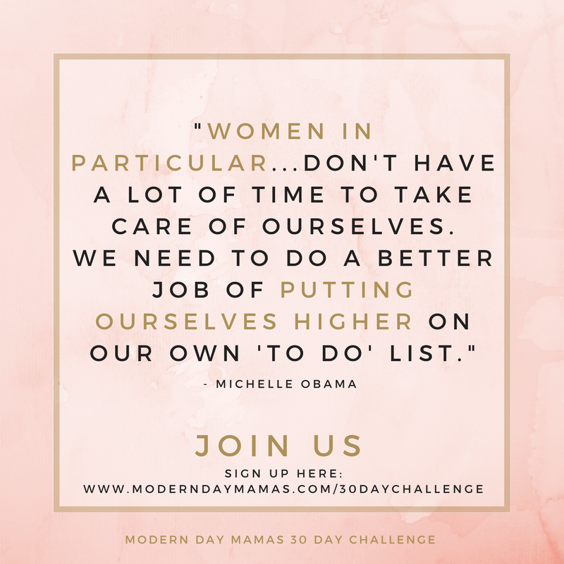 We mamas need to put ourselves on our own to-do list