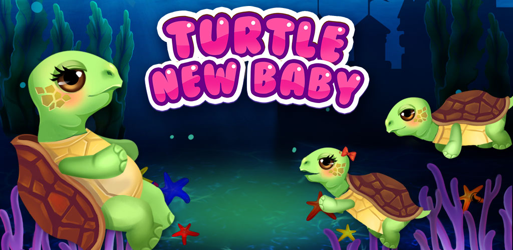 Turtle Mommy New Baby is Born!  The babies are coming! A new turtle mommy is ready to have her babies and needs your help.