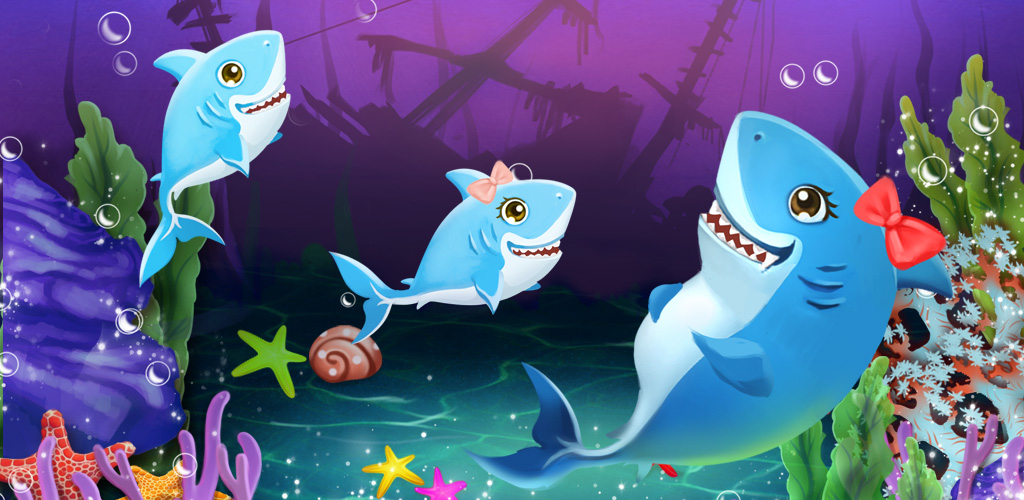 Shark Mommy's New Ocean Baby  Come learn how to care for babies with this fun shark babies birthday tale! All mommy's go through difficult pregnancy!