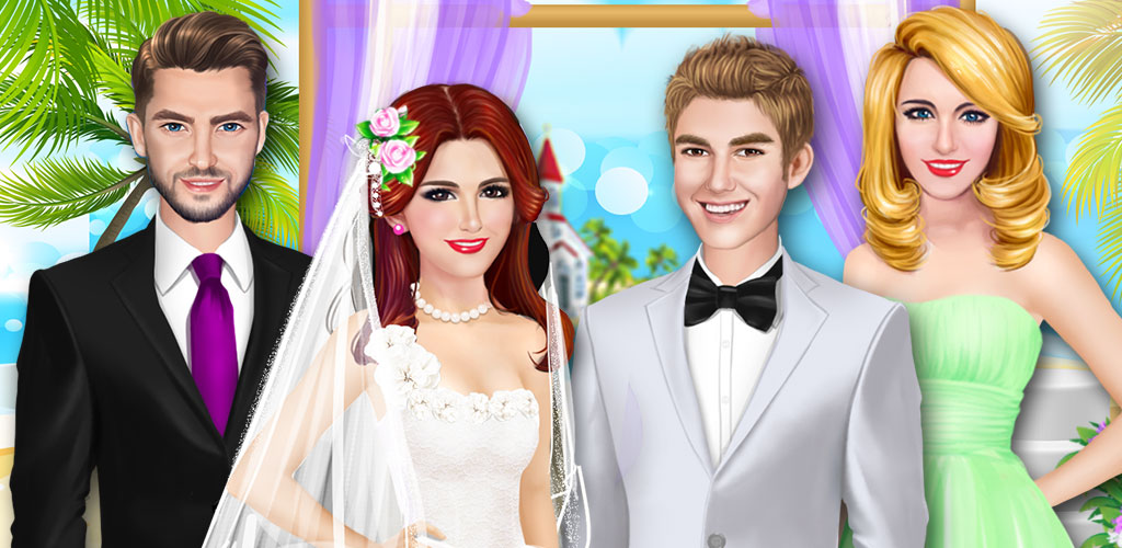 Celebrity Wedding: Beach Party  Run your very own superstar wedding salon as you help the bride and groom prepare for their big day.