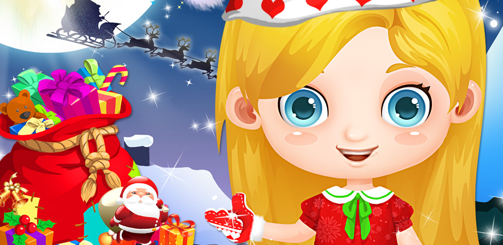 Messy Girls' Xmas Makeover  Messy Girls' Xmas Makeover is a fun style game that lets you design hair, outfits, makeup and more for your models. Care for their skin and hair by applying salon treatments, ensuring they look good no matter what season it is!