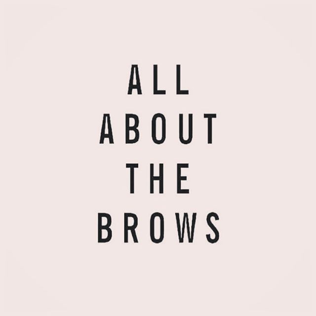 Brows are everything 😍