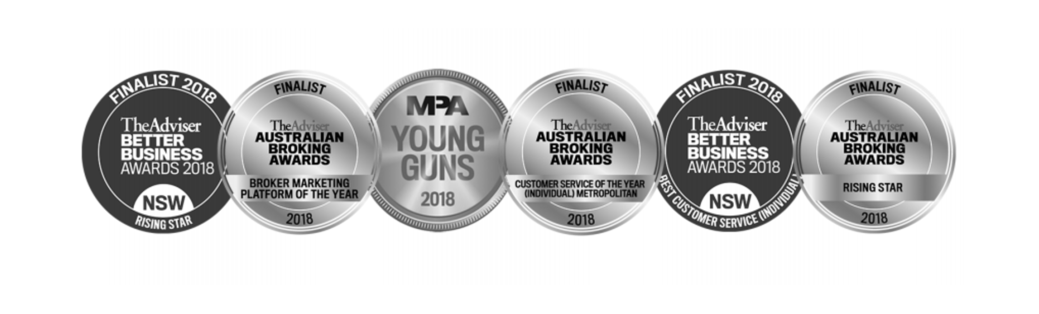 2018 Industry accolades - Black & White Finance - Peter Vassilis - Mortgage Broker Rose Bay.png