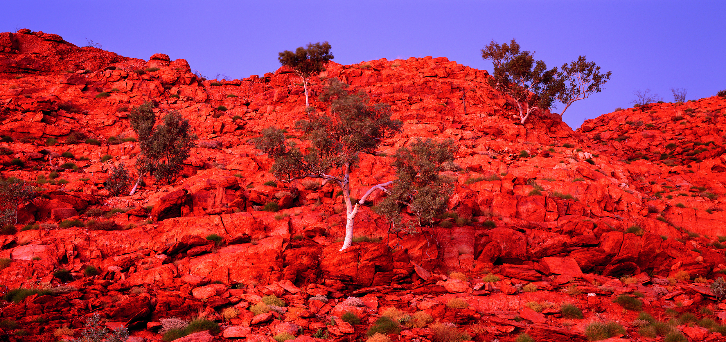 Dawn, Broadhurst Range, Rudall River National Park, Little Sandy Desert, Pilbara, Western Australia, 2011.  Edition of 3.