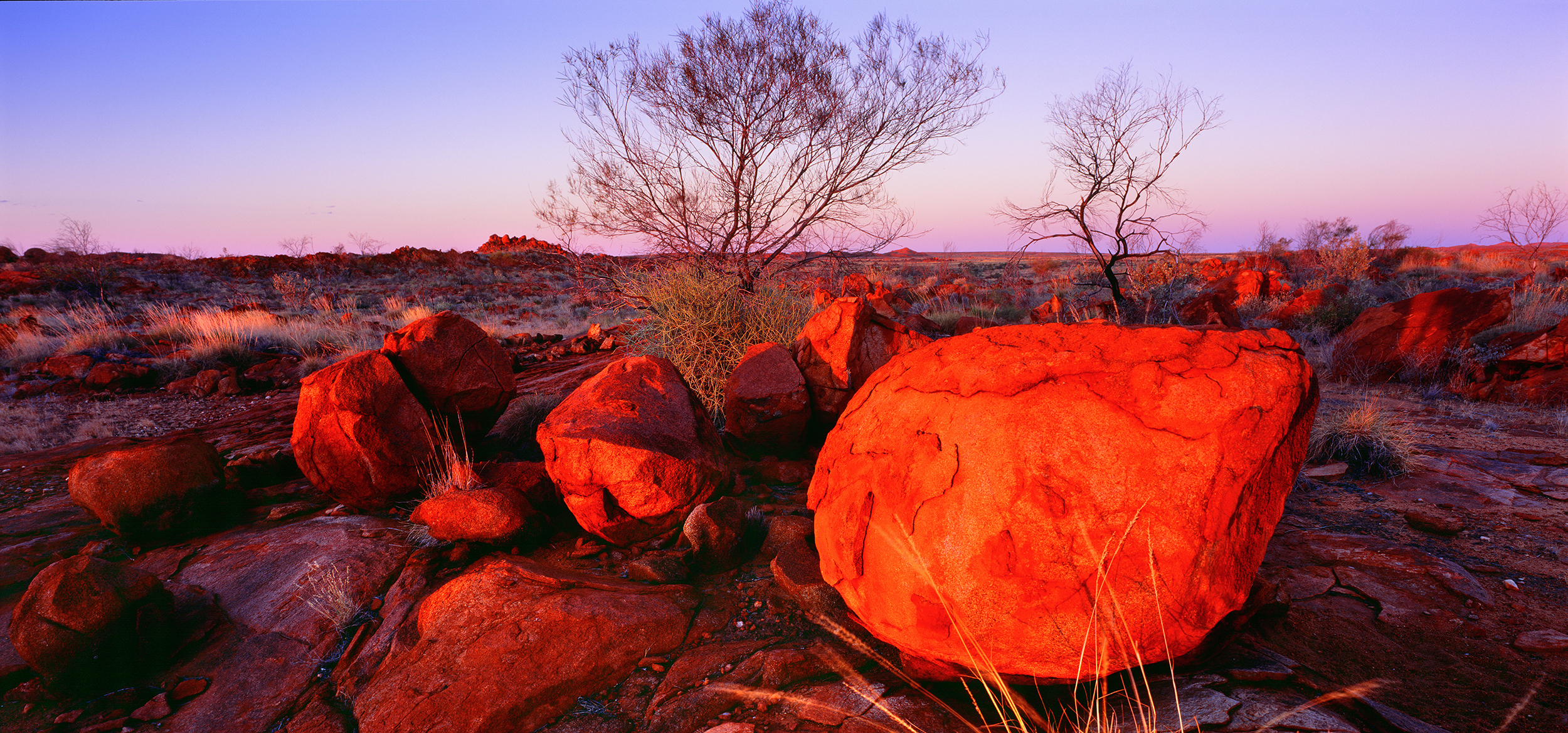Granite Outcrop, Nullagine, Pilbara, Western Australia, 2008.  Edition of 250.