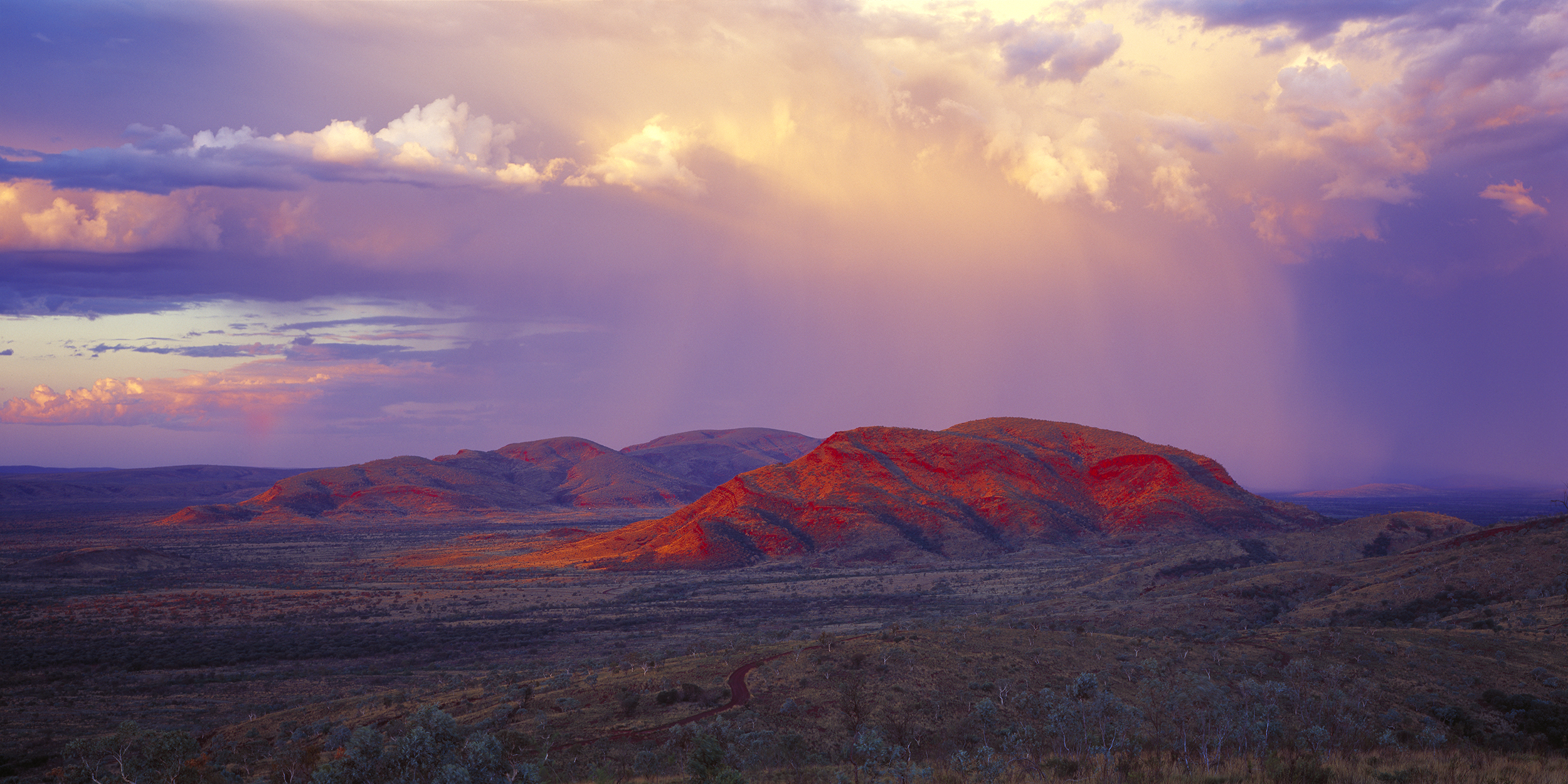 Pink Rain, The Governor, Pilbara, Western Australia, 2013.  Edition of 3.
