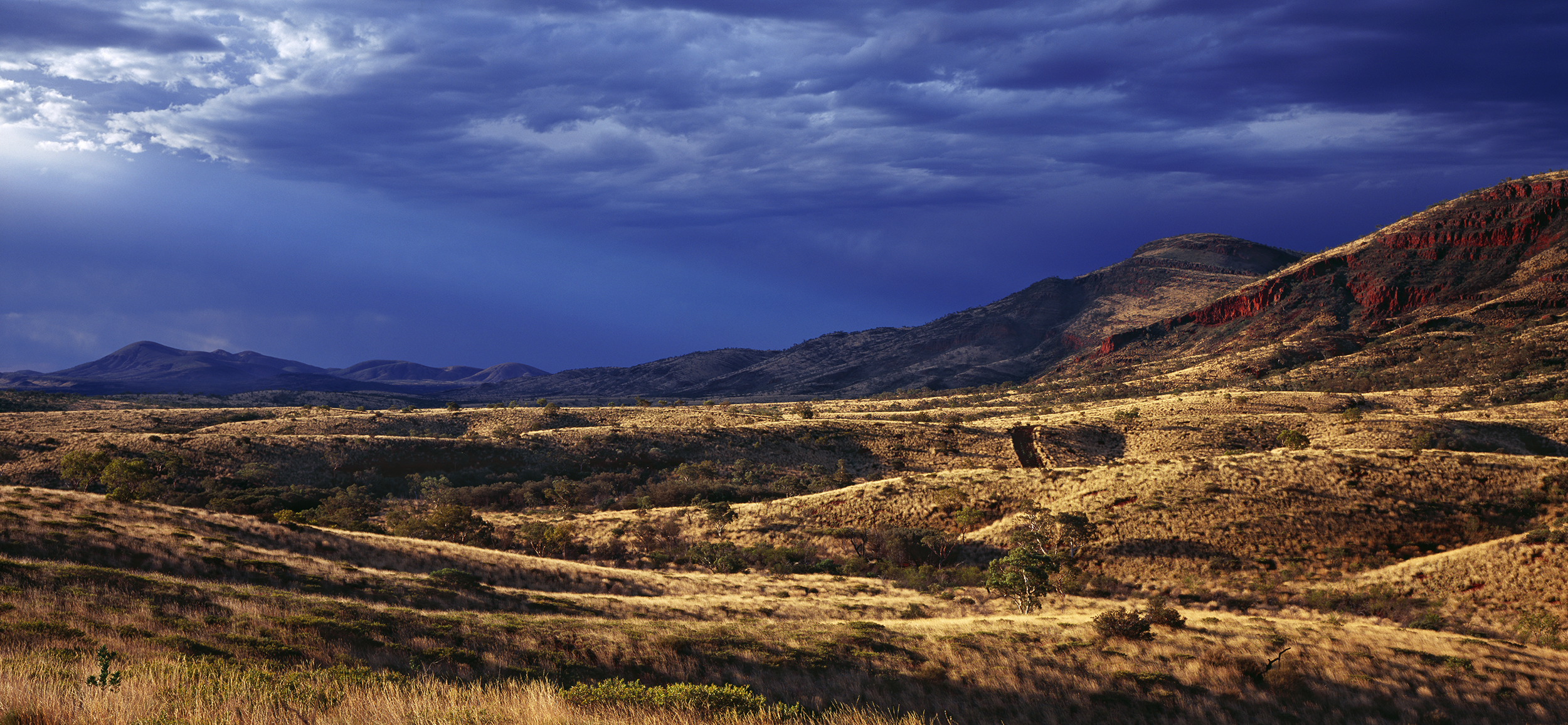 Summer Storms, Looking towards Mt Turner, Paraburdoo, Western Australia.  Edition of 3.