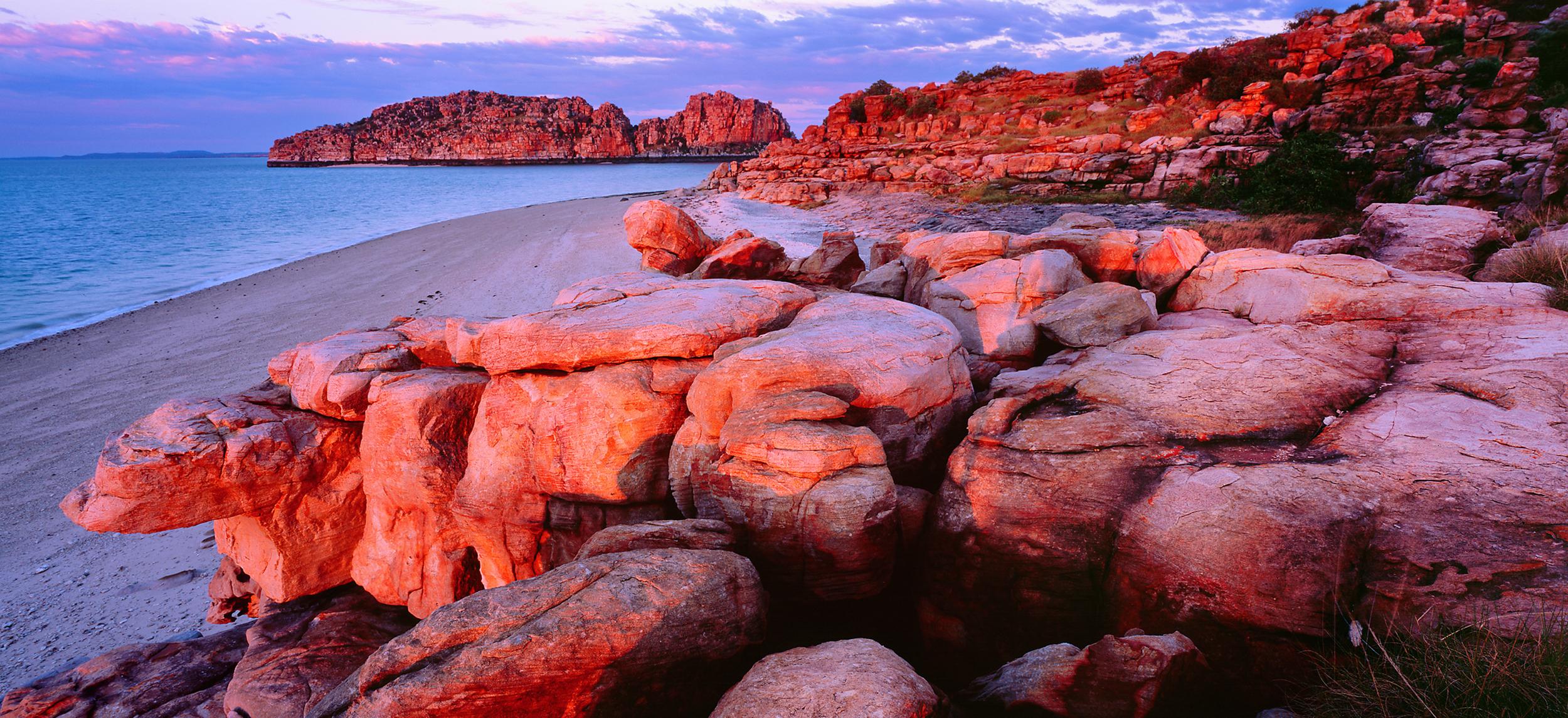 Sunrise, Prudhoe Islands, Kimberley, Western Australia, 2008. Edition of 3.