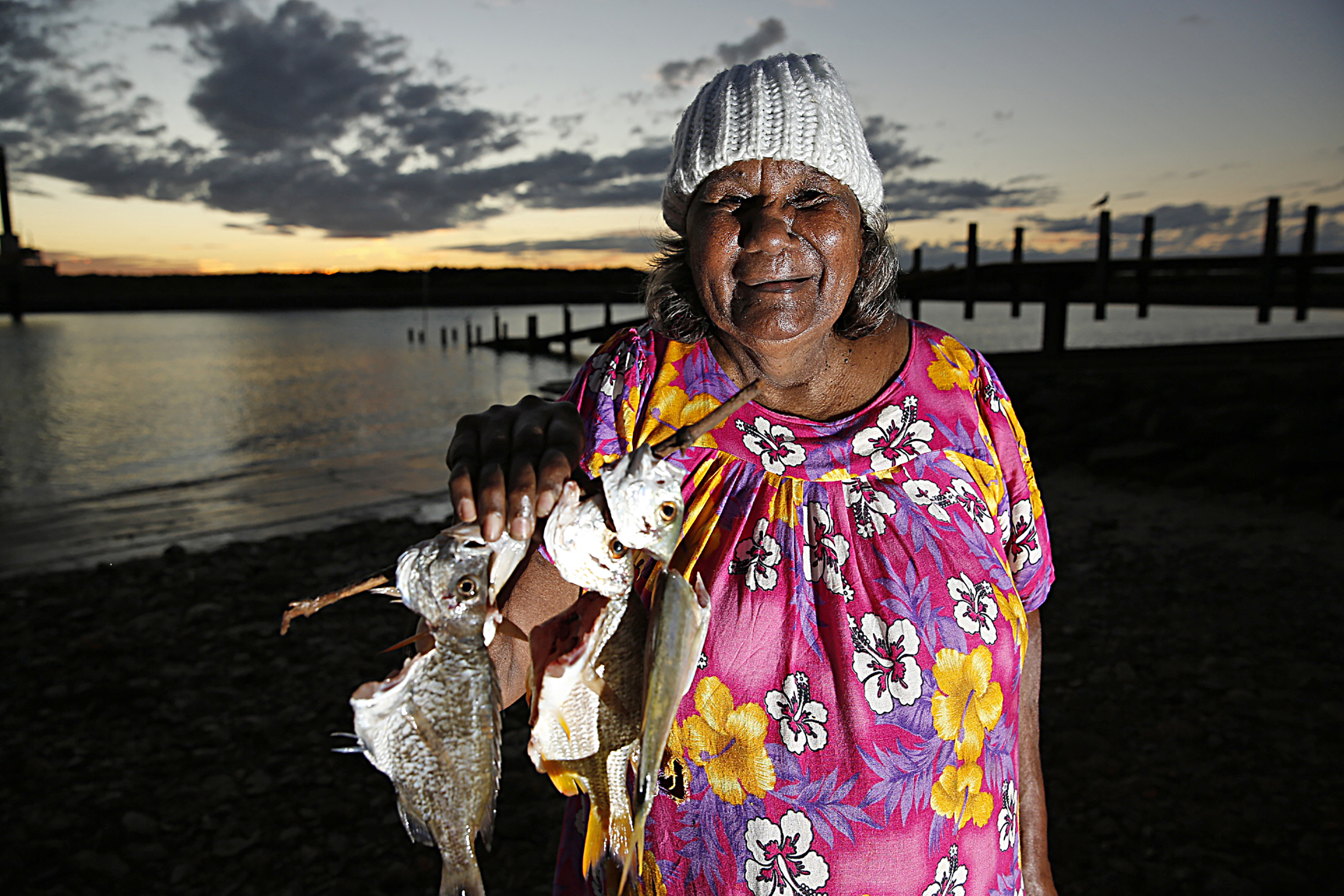 Pansy Hicks, Artist, Roebourne, 2013.  Edition of 3.