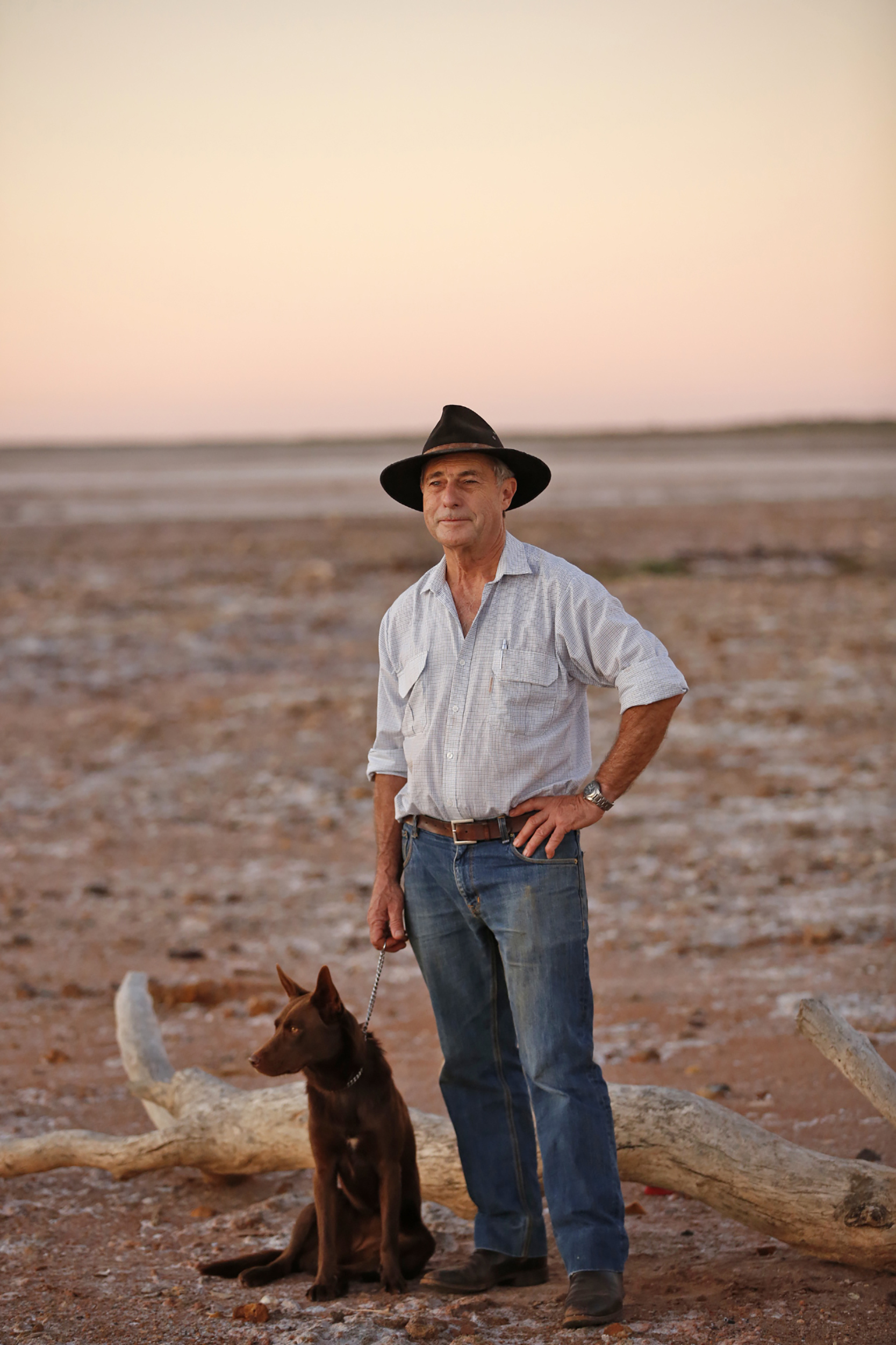 Rick Fenny, Veterinarian, Roebourne, 2015.  Edition of 3.