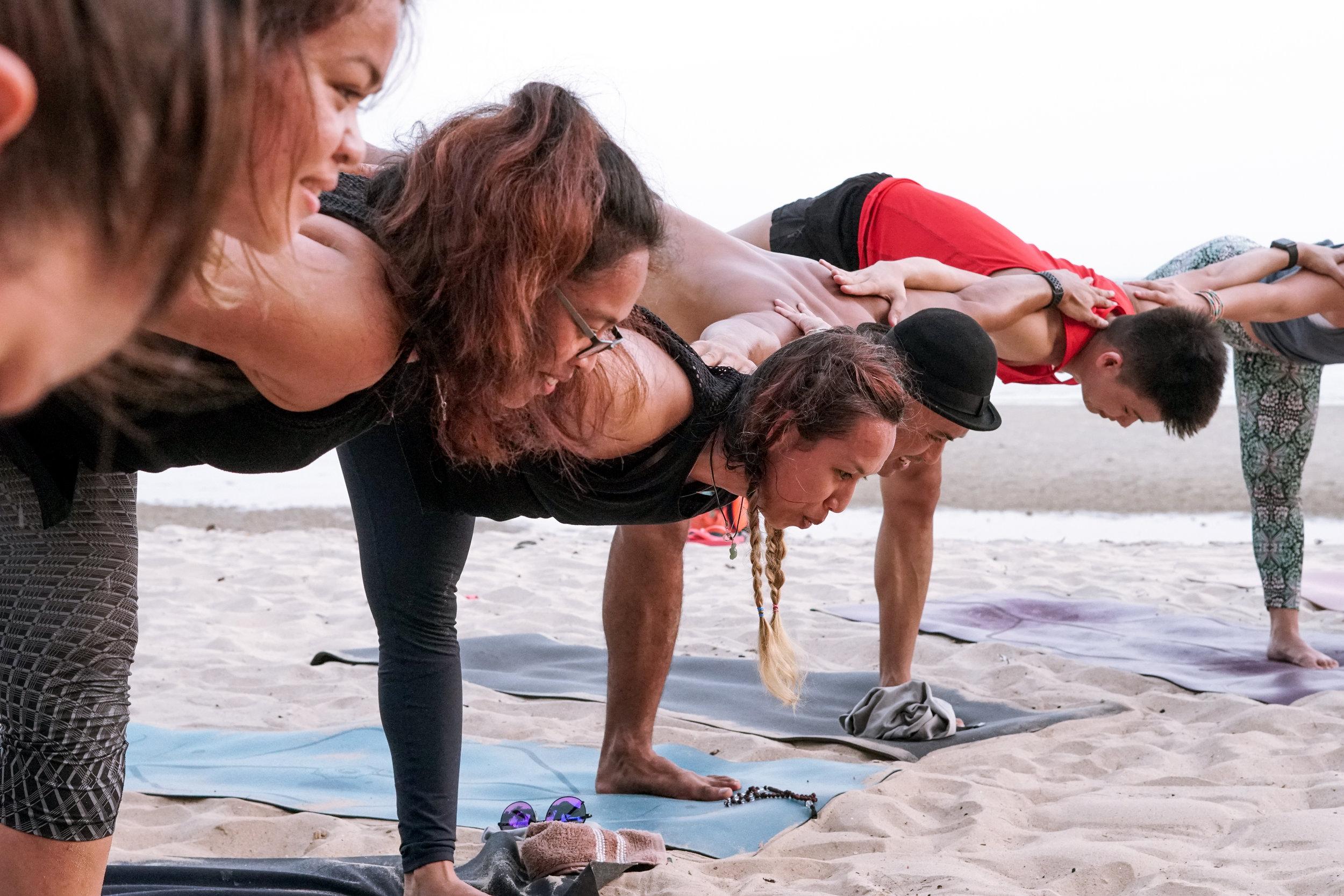 Group Yoga Practice -