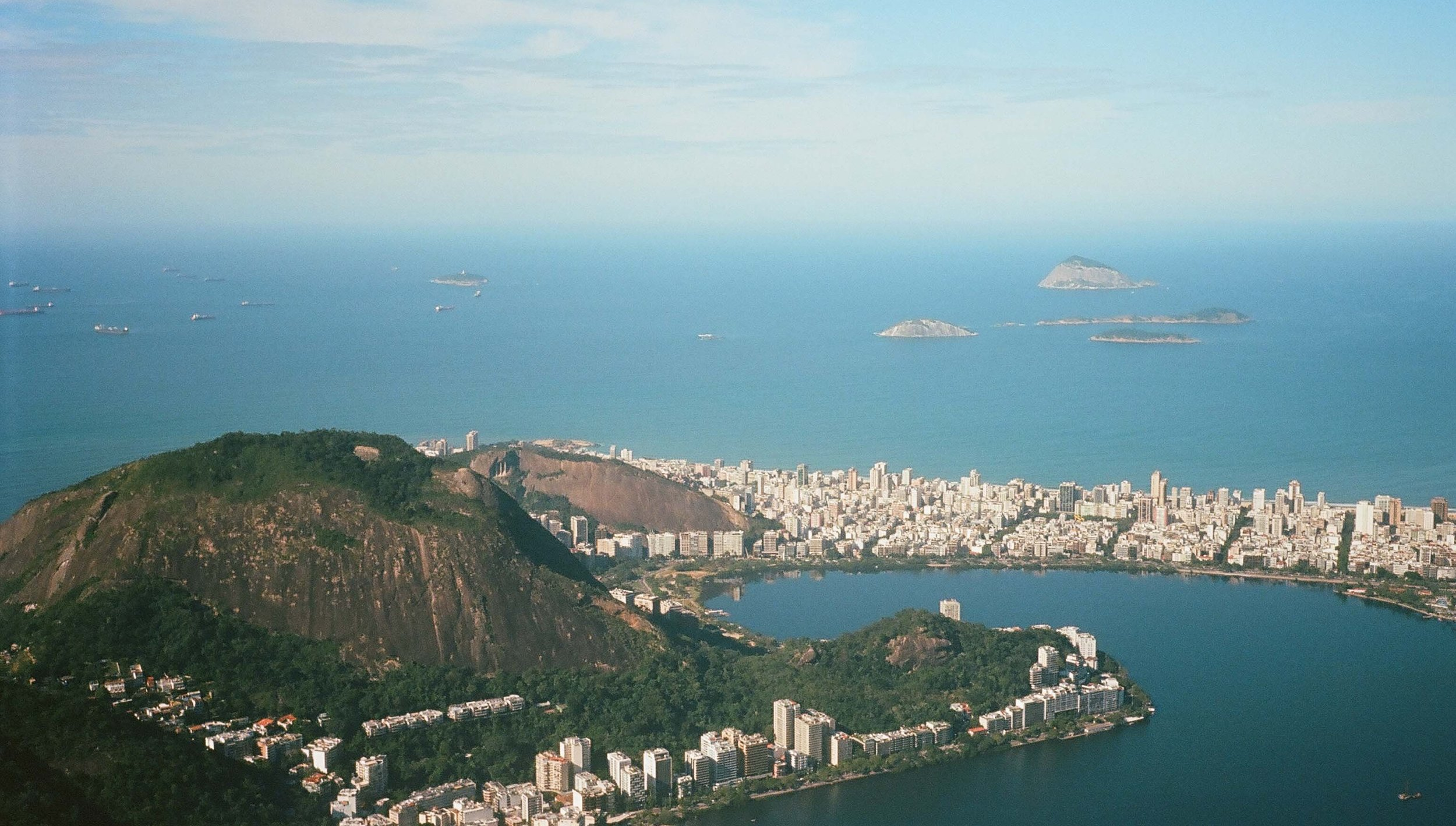 Brazil: view from Cristo Redentor