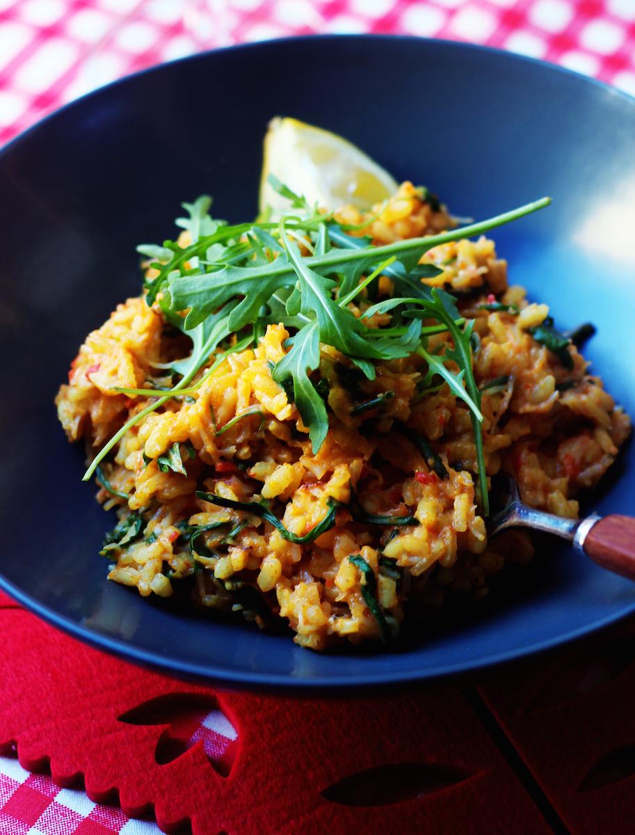 Friday - Chilli crab risotto