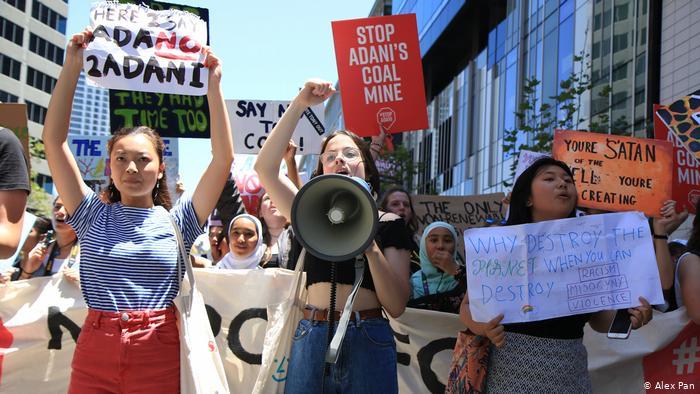 Read:  'Voices of school climate strikers around the world'   Deutsche Welle  Credit: Alex Pan