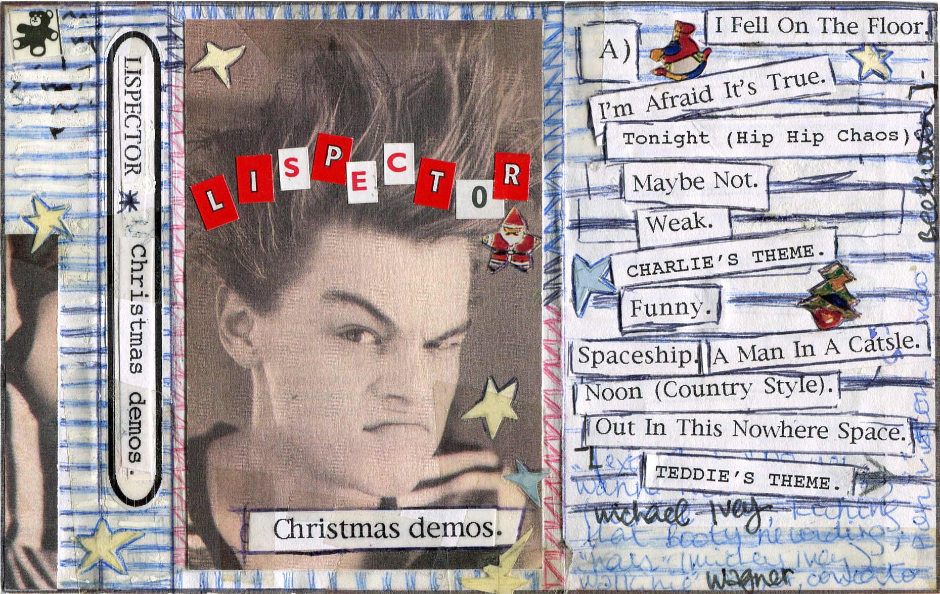 1996 - Lispector - Christmas Demos - Cover FRONT.jpg
