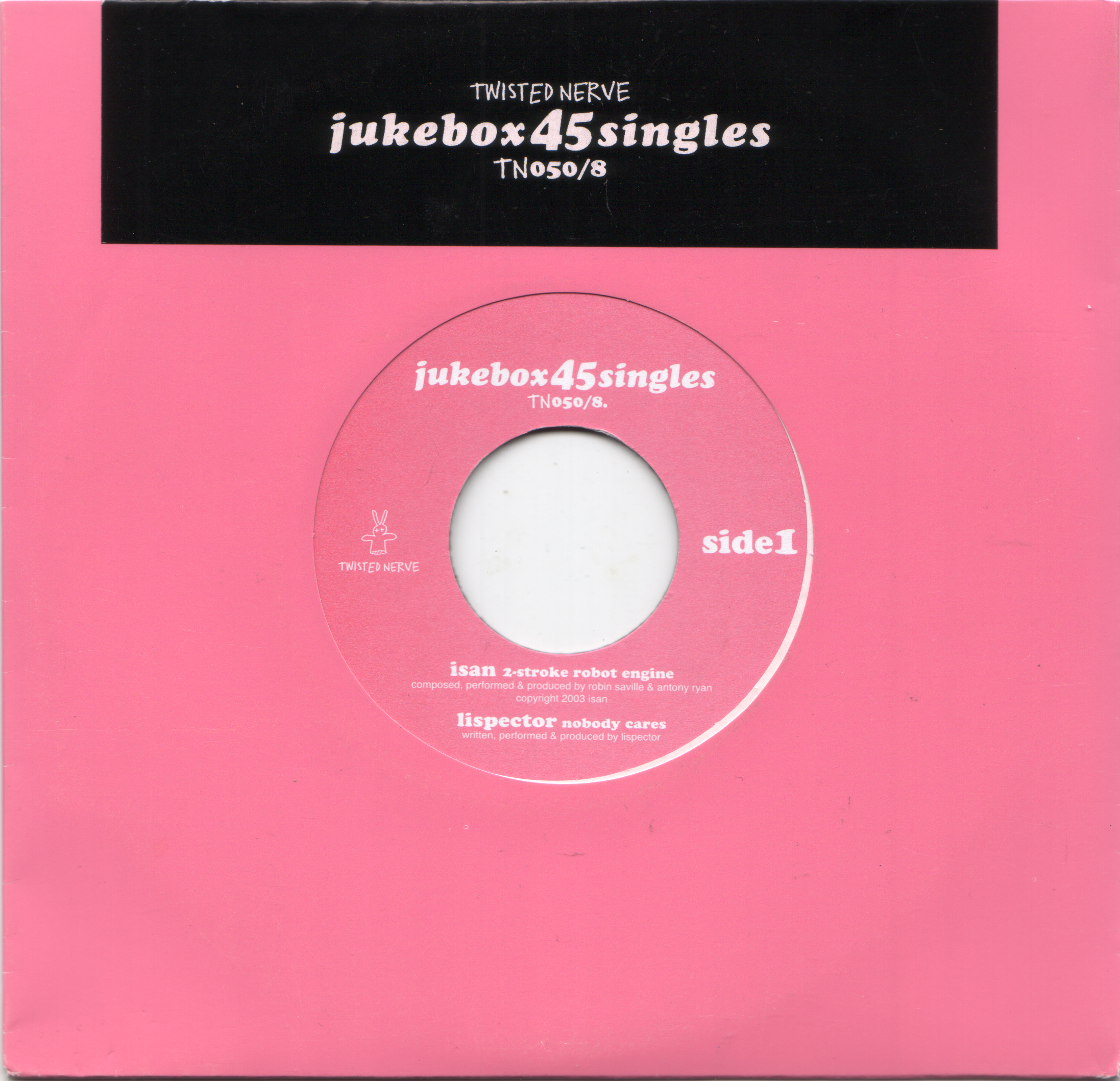 2003 - TN 050:8  - Jukebox 45 - Singles Issue 8 - (Twisted Nerve) Cover - EP.jpg