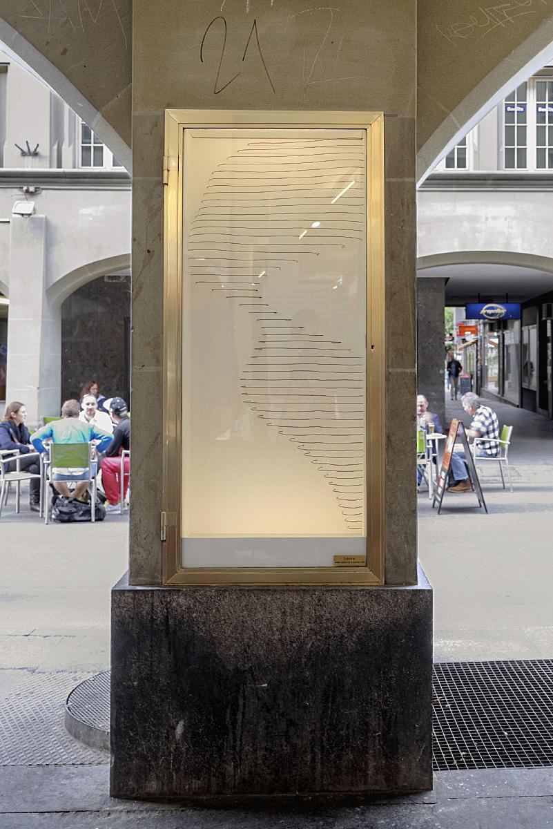 Luca Pitsch  Ohne Titel, mit Draht, Juni 2013