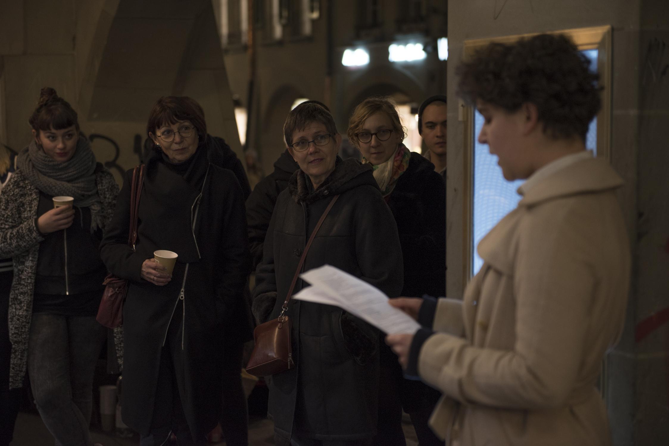 Performance von  Stéphanie Rosianu , November 2014