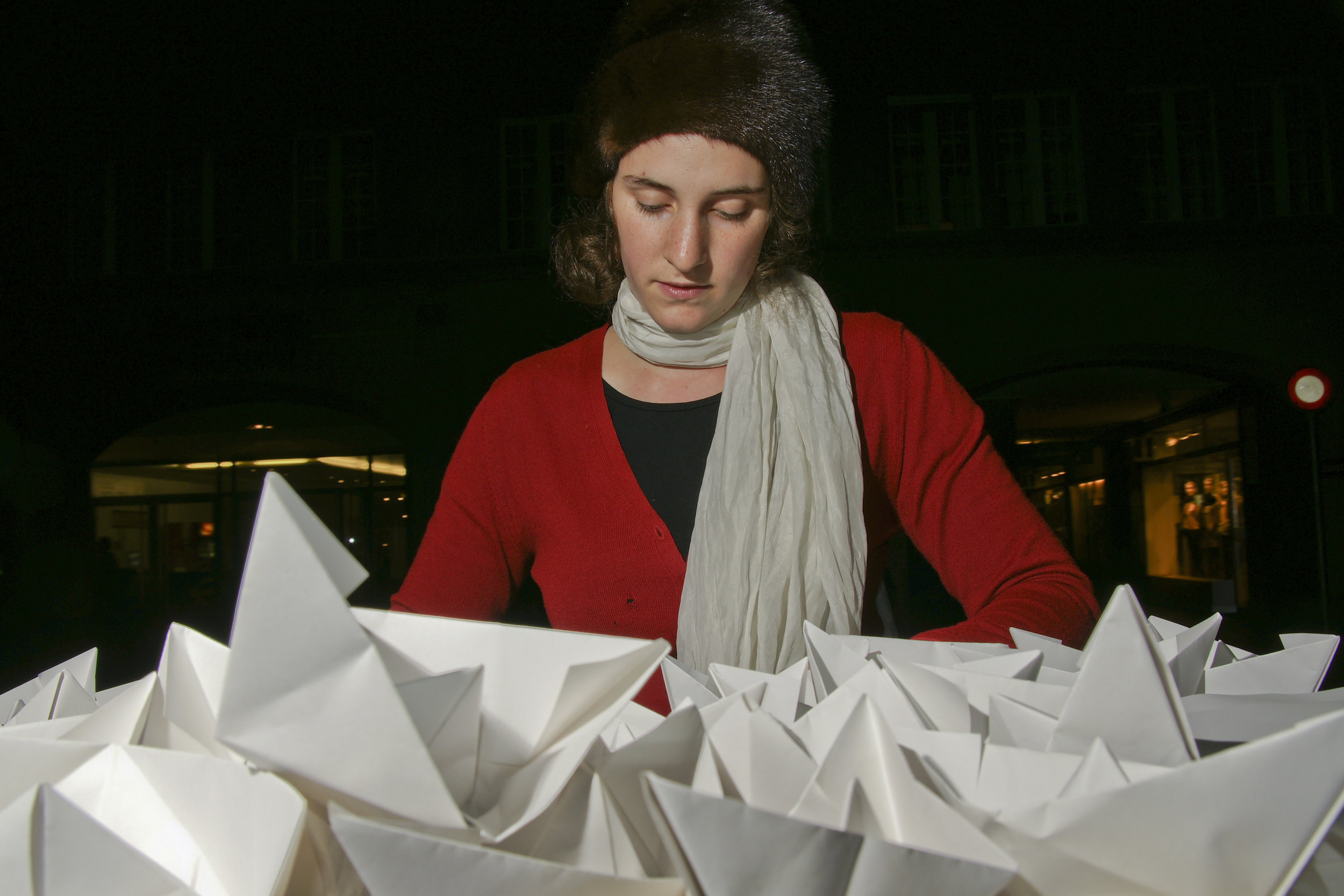 Performance von  Simone Fröbel , November 2011