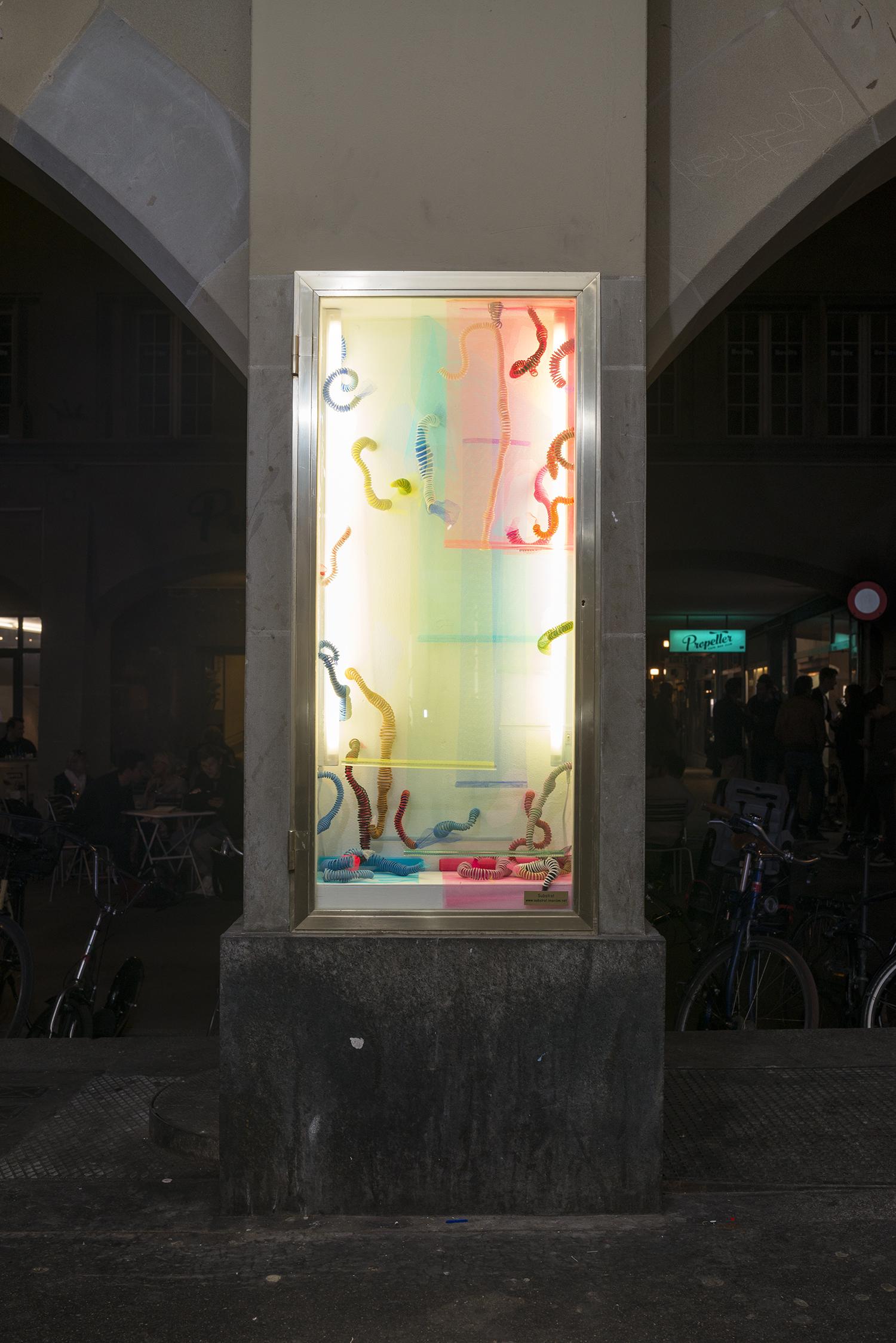 Tamara Hauser Kunst Art Samuel Rauber Substrat Projektraum Bern Offspace Galerie