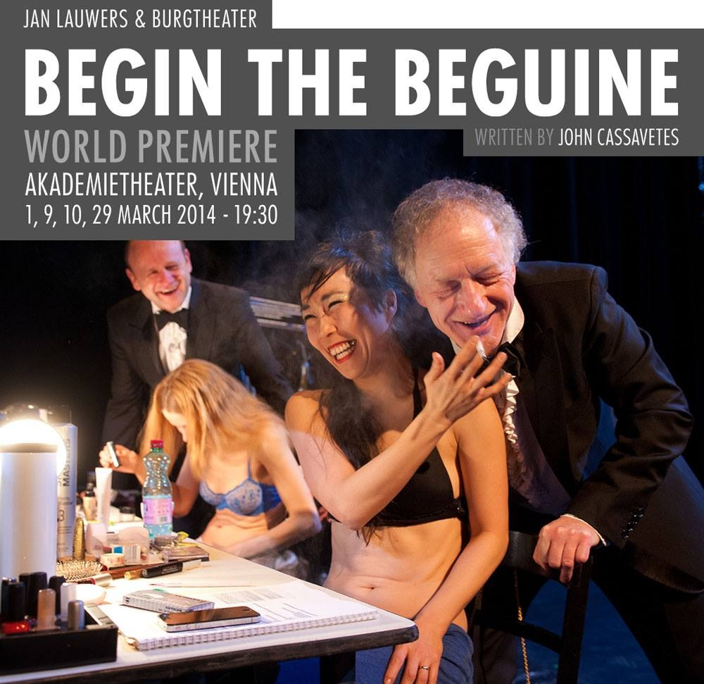 2014 Begin the beguine Jan Lauwers/ Needcompany collaboration with Burg theater Vienna