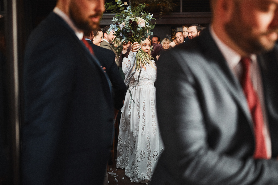 """""""Thank you again for everything, the flowers were amazing and for all your support on the day..thank you for all you did to make the day run smoothly!"""" - Charlotte + Gary, Beagle Hoxton"""