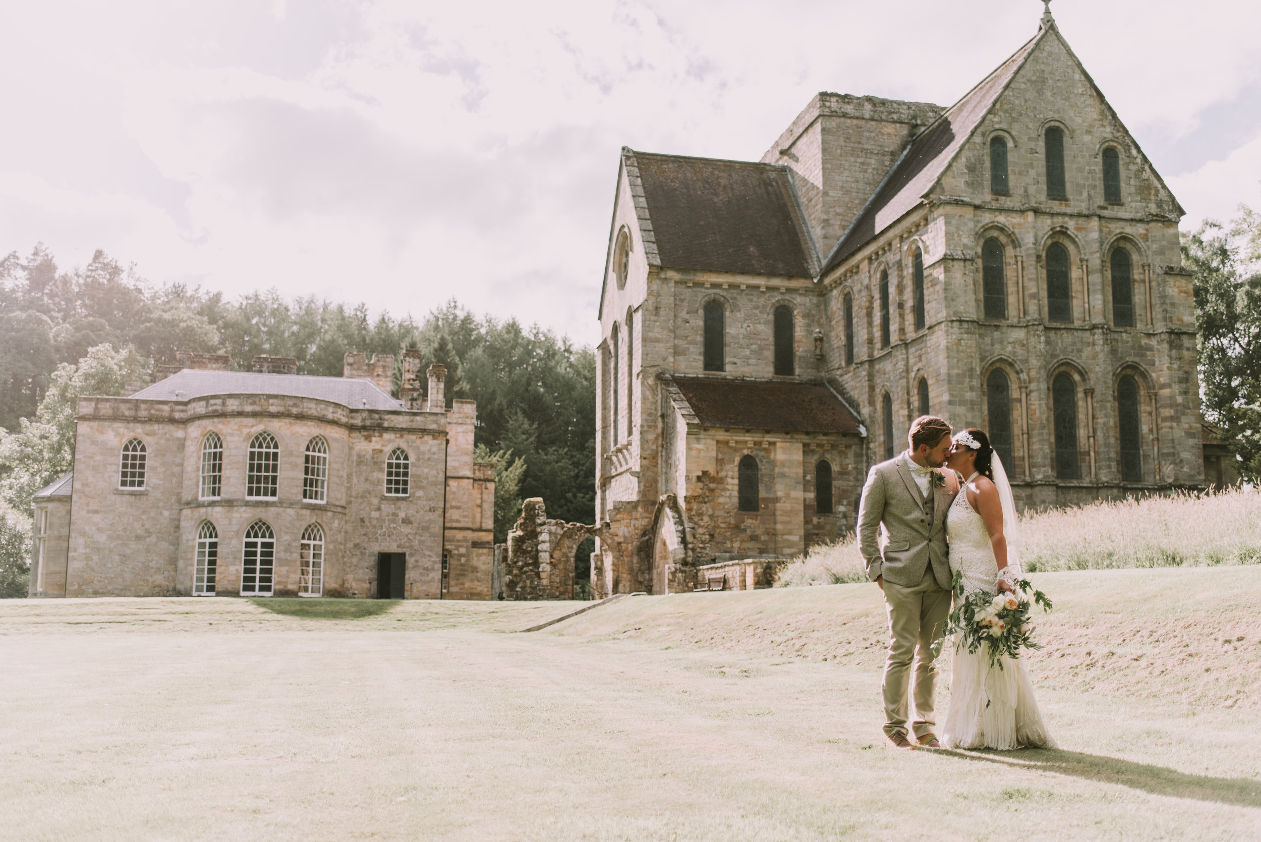 Brinkburn Priory Wedding Photography | Northumberland Wedding Photographer | Jamie Mac Photography