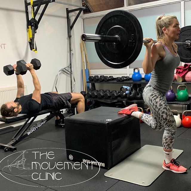 Here at the movement clinic the hard work never stops. We run group and private sessions through out the week. Get in touch to book your class now !