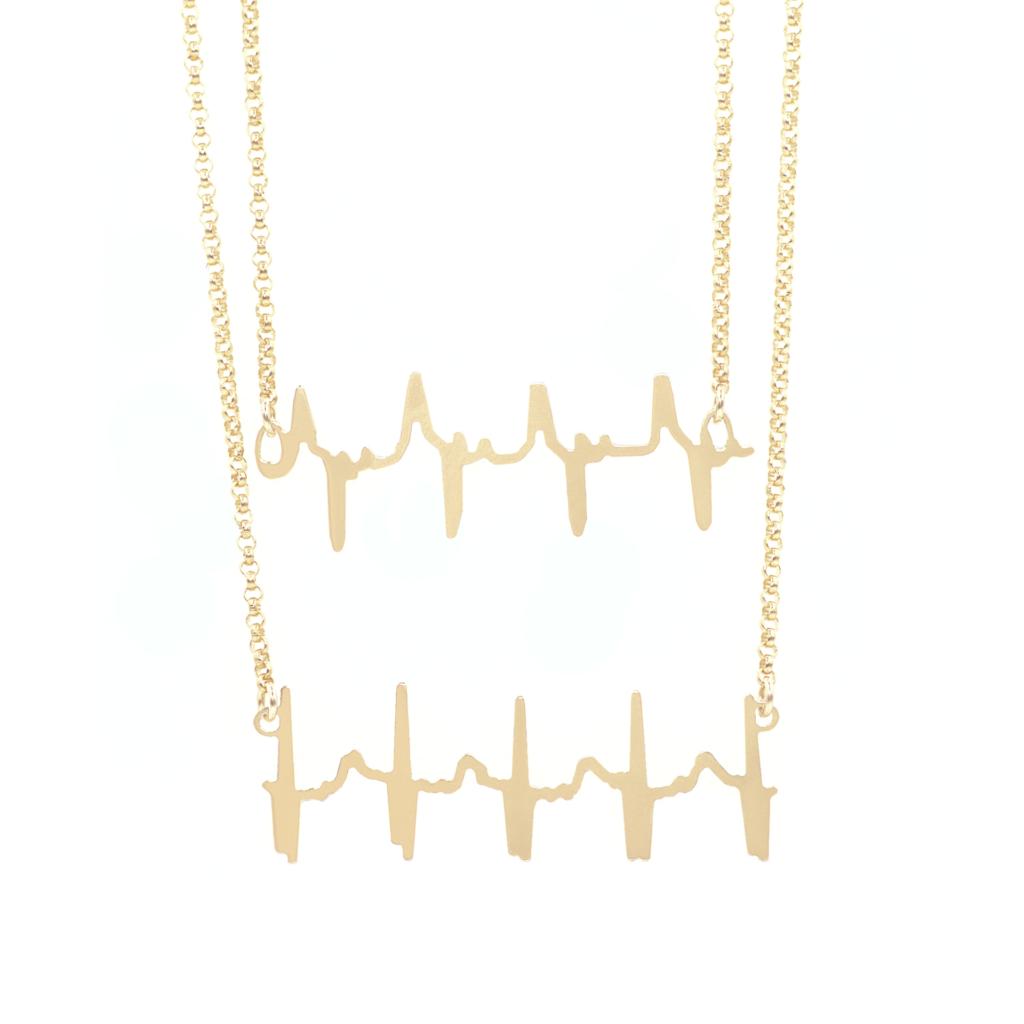Original Double Heartbeat Necklace    $129.00