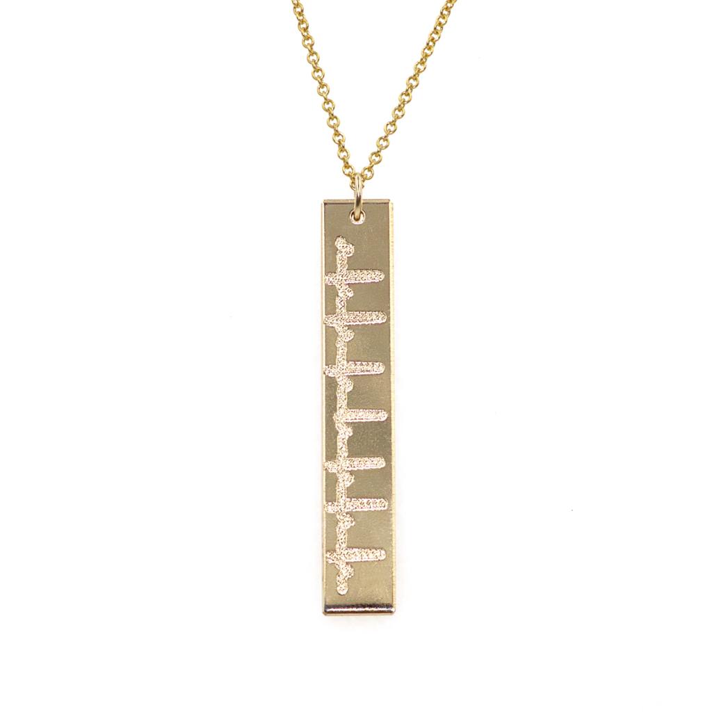 Heartbeat Pendant Necklace    $69.00