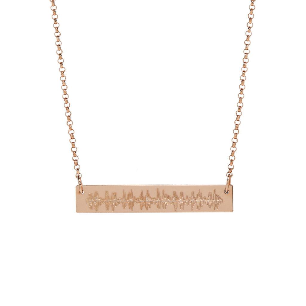Heartbeat Bar Necklace    $69.00