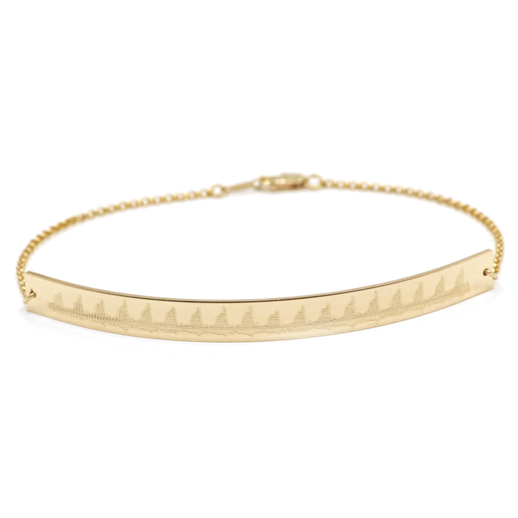 Heartbeat Bar Bracelet    $69.00