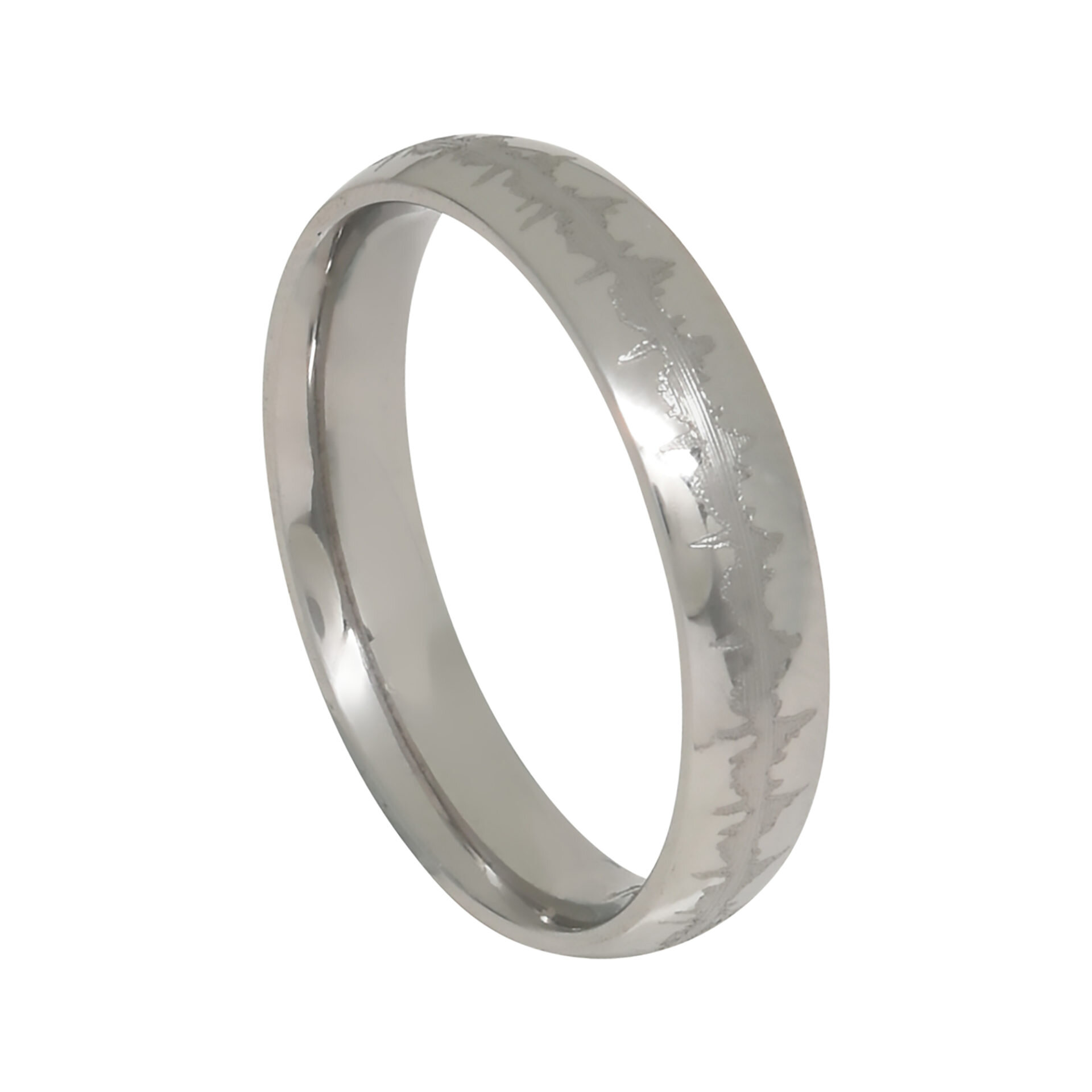 Heartbeat Comfort Fit Band Ring    $89.00