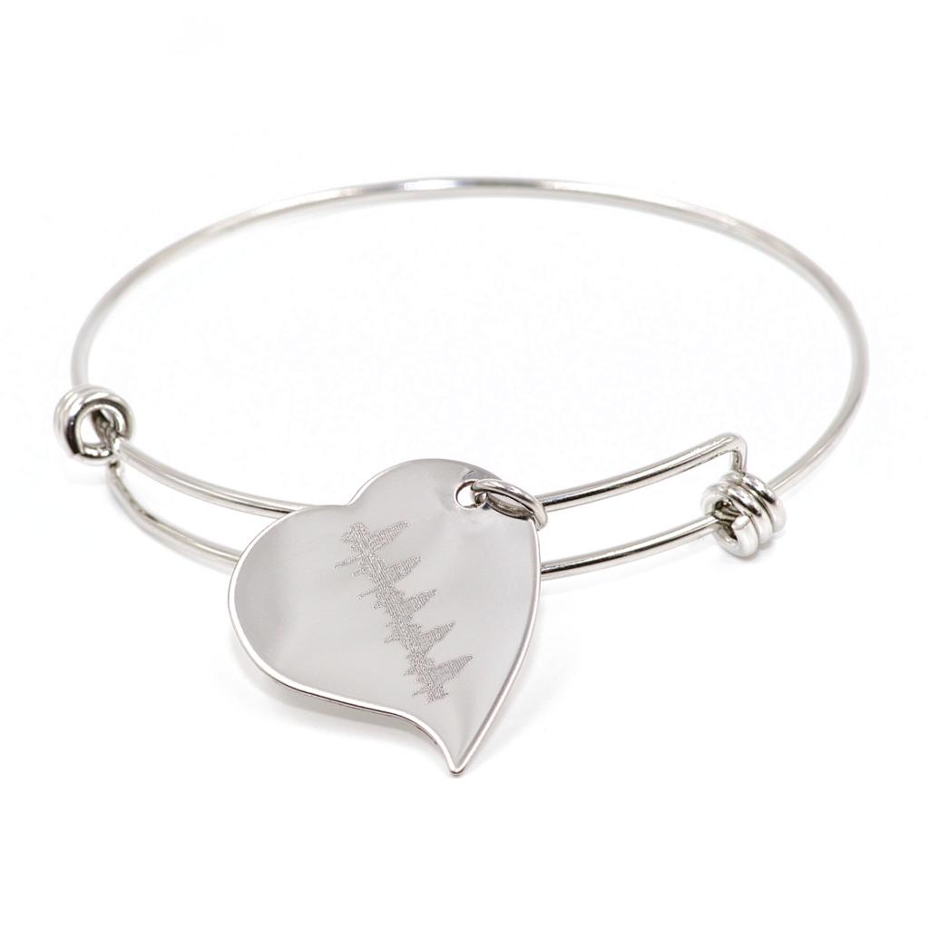 Heartbeat Charm Bracelet    $59.00