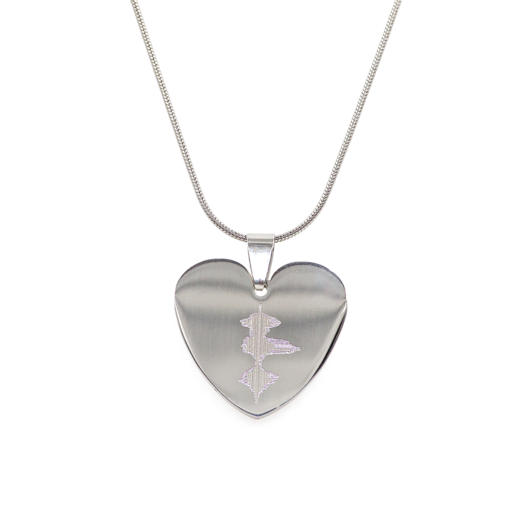 Heartbeat Charm Necklace    $59.00