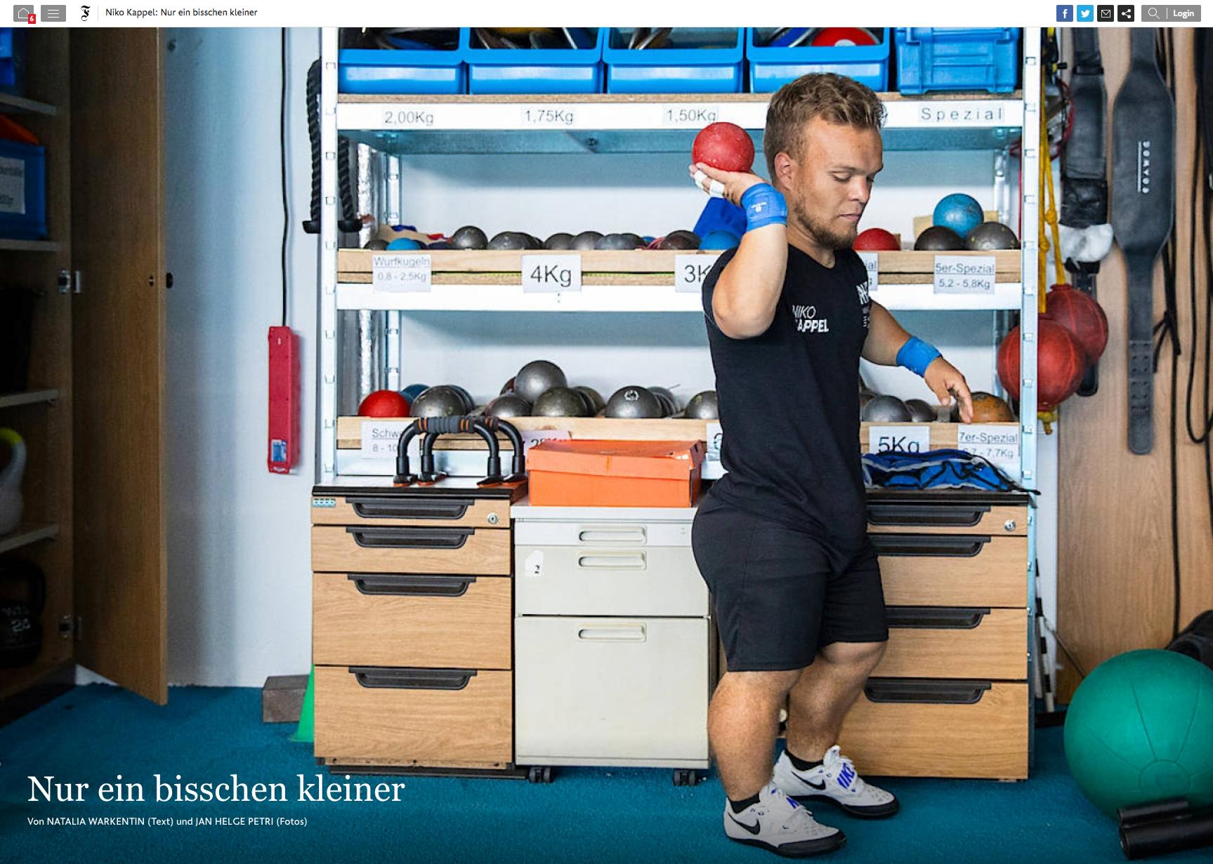Frankfurter Allgemeine Zeitung (Germany), August 2018