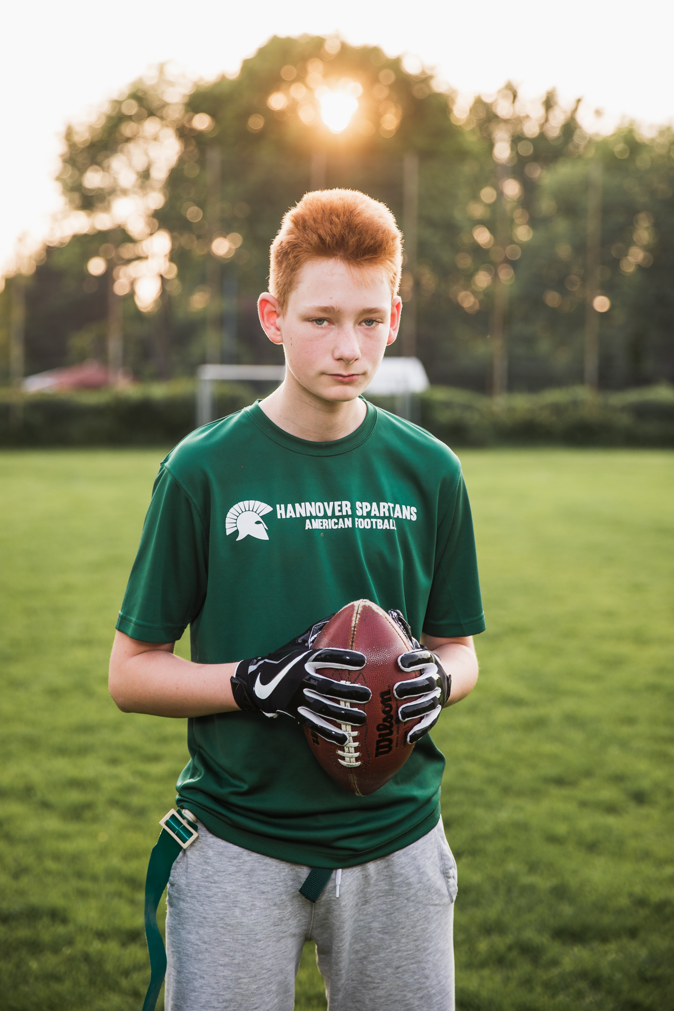 Leon, 13 years, Hannover Spartans
