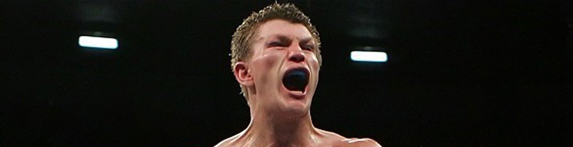 Ricky Hatton at Portsmouth's Pyramids Centre