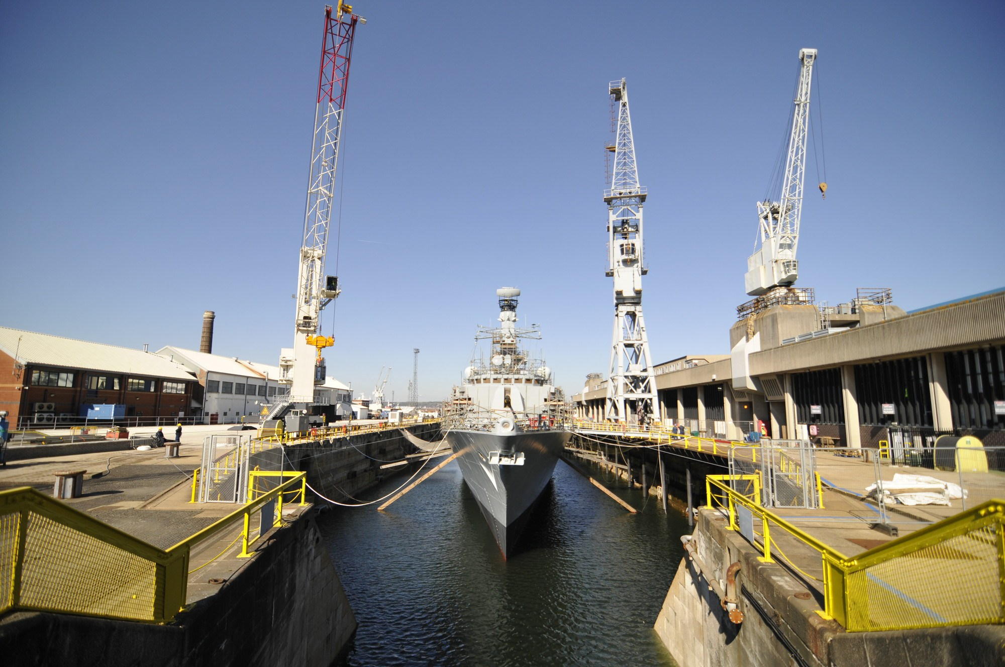 HMS Westminster completes extensive refit at Portsmouth Naval Base