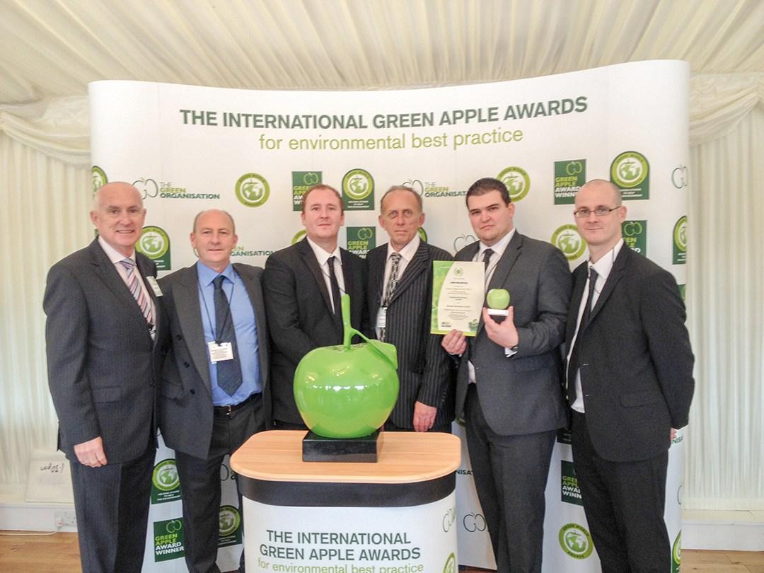 Gunwharf Quays recognised as International Green World Ambassador