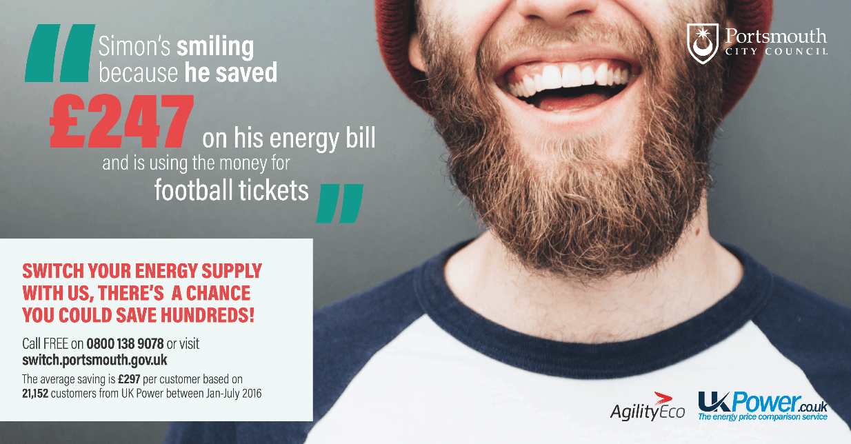 Portsmouth City Council launch money-saving gas and electricity switching service